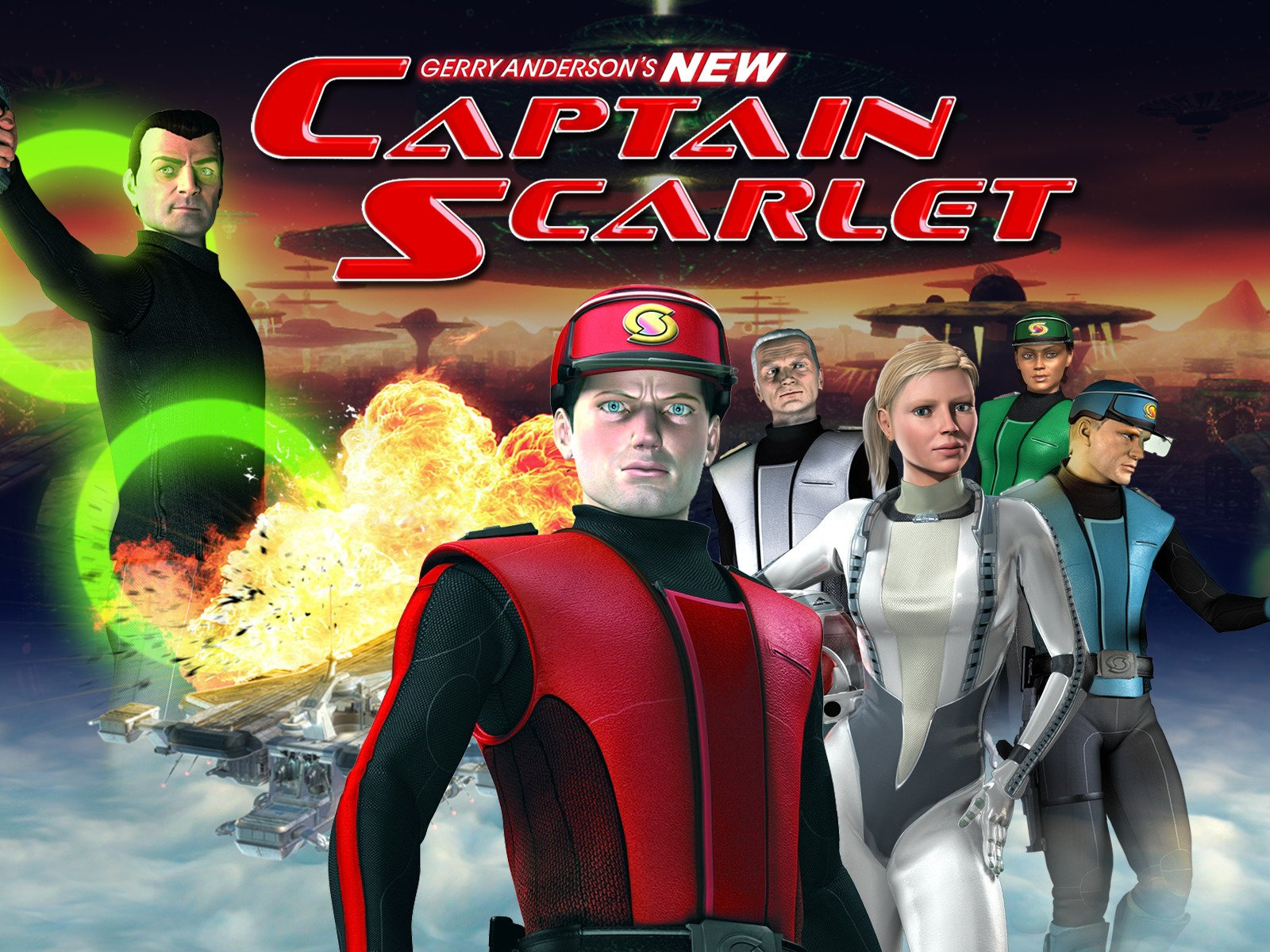 Gerry Anderson's CGI reimagining of Captain Scarlet captivates a whole new audience.