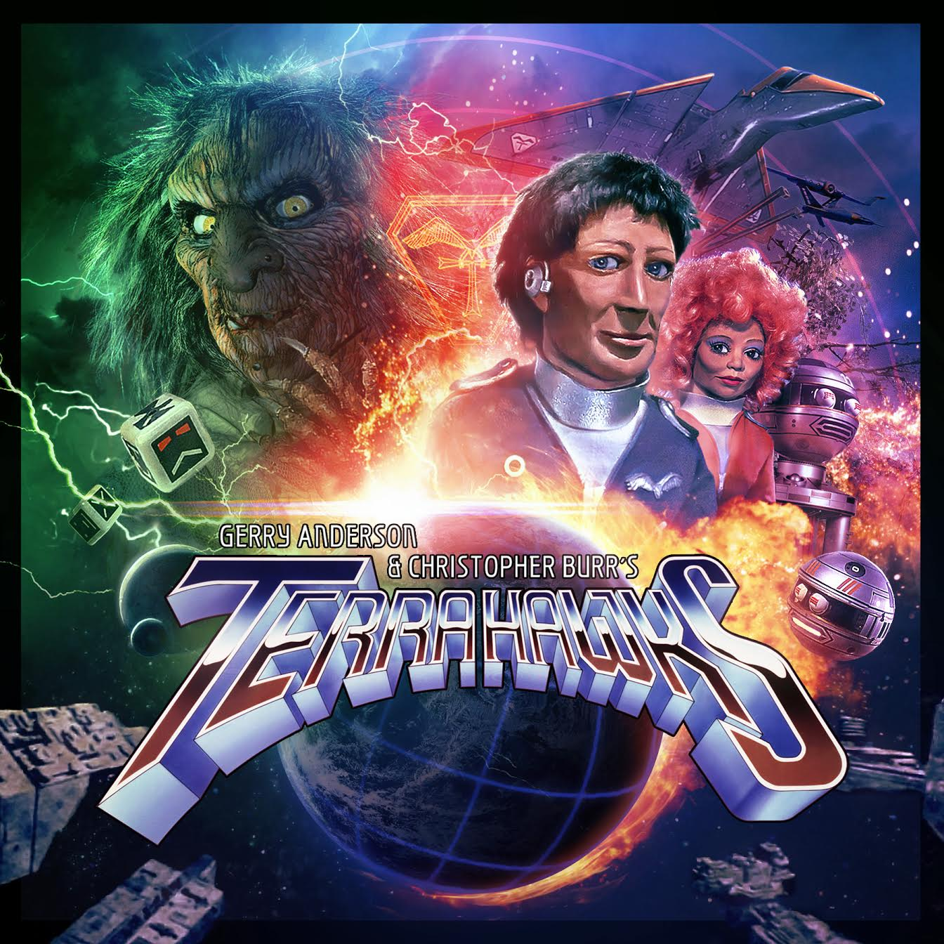 Anderson Entertainment and Big Finish begin producing a series of new full-cast audio dramas of Terrahawks.