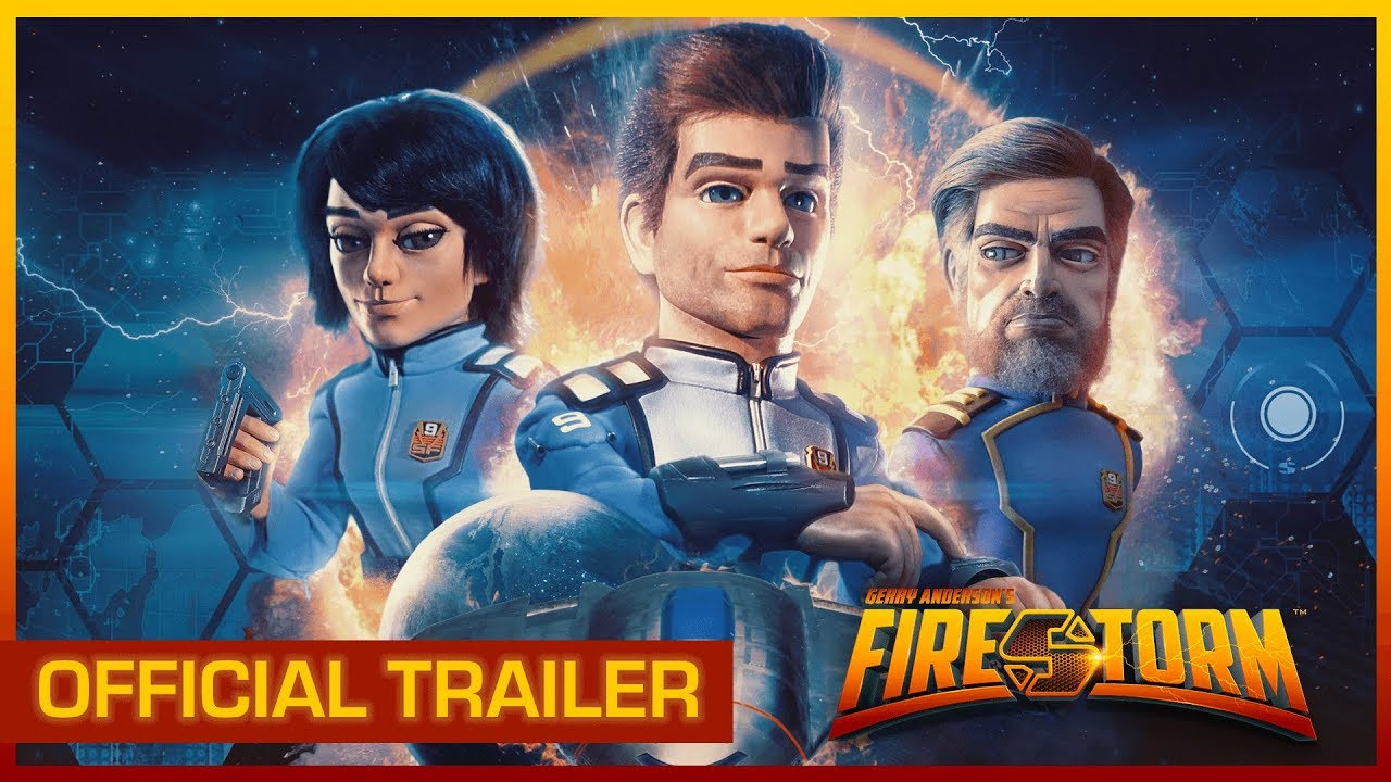 Development begins on Gerry Anderson's Firestorm, thanks to a highly successful Kickstarter campaign.