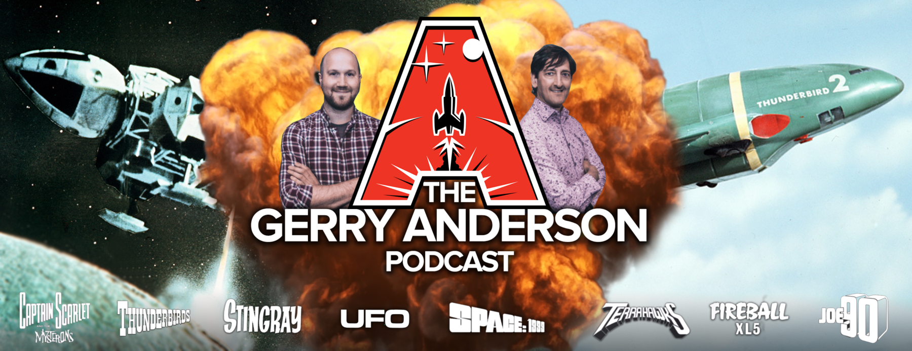 Anderson Entertainment launches the Gerry Anderson Podcast.