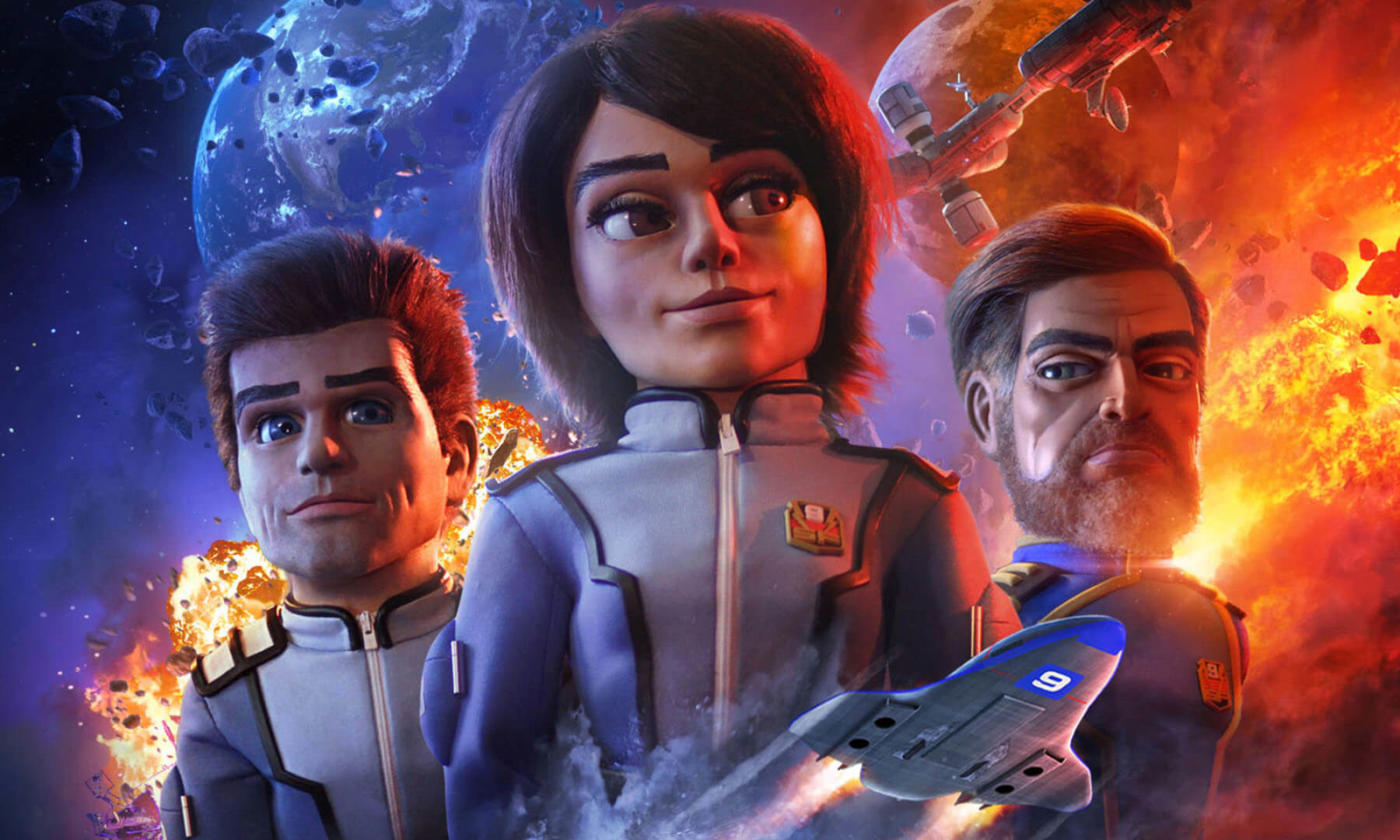 In October Anderson Entertainment premiered their pilot minisode for Firestorm filmed in 'Ultramarionation'.