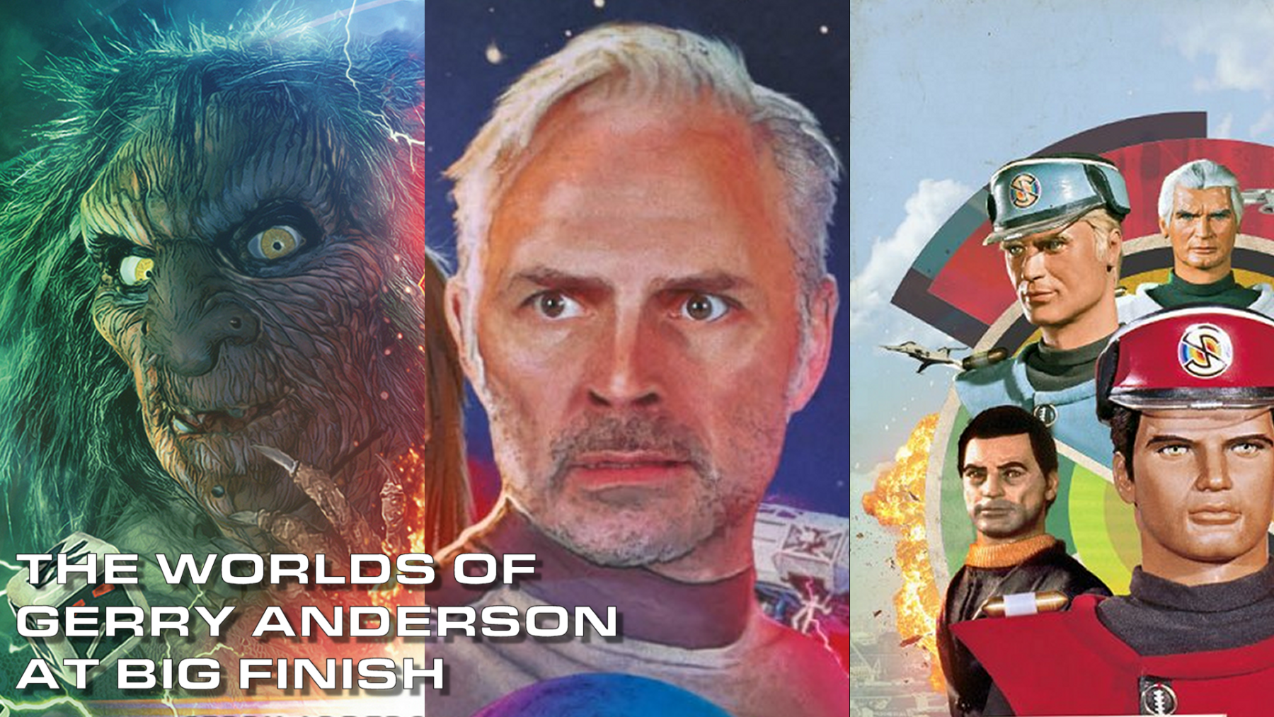 Anderson Entertainment signs co-production deal with Big Finish Productions to produce a range of new Gerry Anderson audio content.